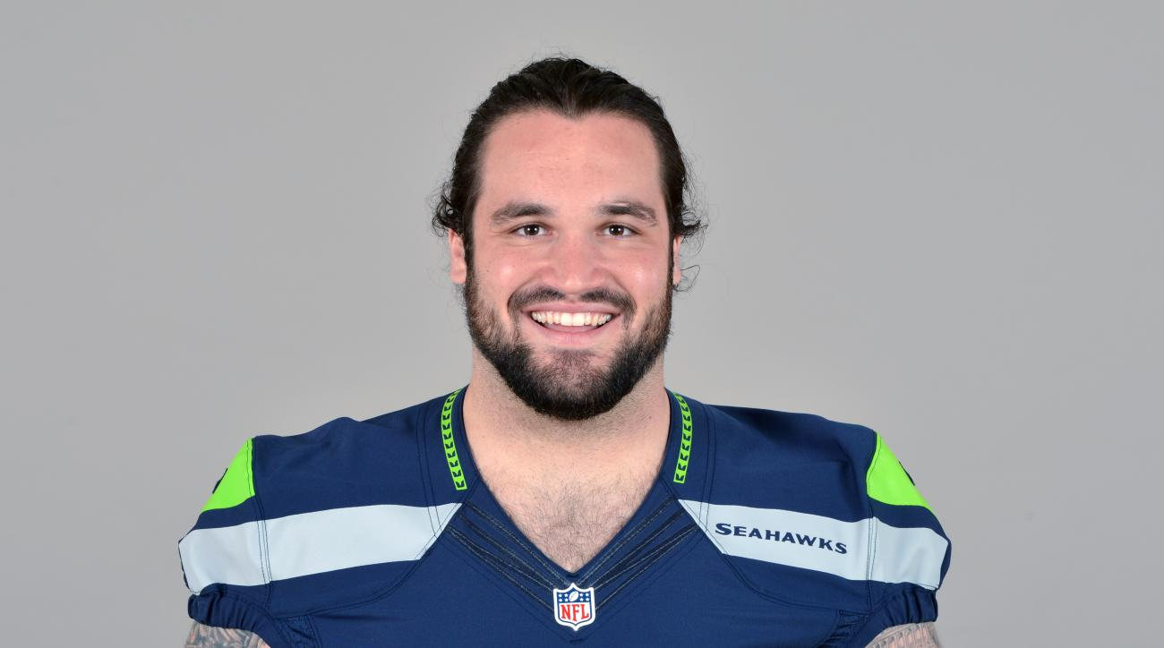 This is a 2013 photo of John Moffitt of the Seattle Seahawks NFL football team. This image reflects the Seattle Seahawks active roster as of Tuesday, June 11, 2013 when this image was taken. (AP Photo)
