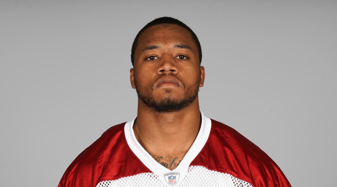 This is a 2015 photo of Damond Powell of the Arizona Cardinals NFL football team. This image reflects the Arizona Cardinals active roster as of Thursday, May 7, 2015 when this image was taken. (AP Photo)