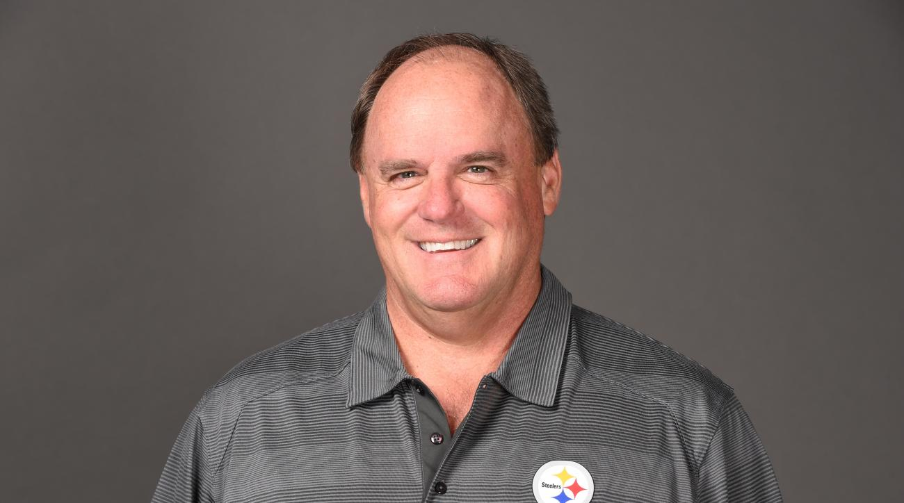 This is a 2015 photo of Kevin Colbert of the Pittsburgh Steelers NFL football team. This image reflects the Pittsburgh Steelers active roster as of Tuesday, June 16, 2015 when this image was taken. (AP Photo)