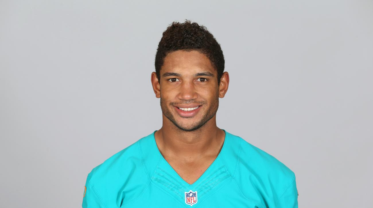 This is a 2015 photo of Josh Freeman of the Miami Dolphins NFL football team. This image reflects the Miami Dolphins active roster as of Monday, June 15, 2015 when this image was taken. (AP Photo)