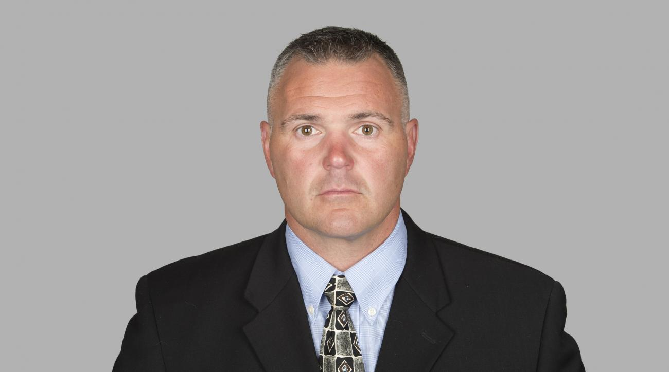 FILE - This is a 2014, file photo showing Pat Meyer. The Buffalo Bills have hired Pat Meyer as a football operations consultant, and he also has a background as an offensive line coach. The hiring was announced on Friday, July 31, 2015, shortly before the