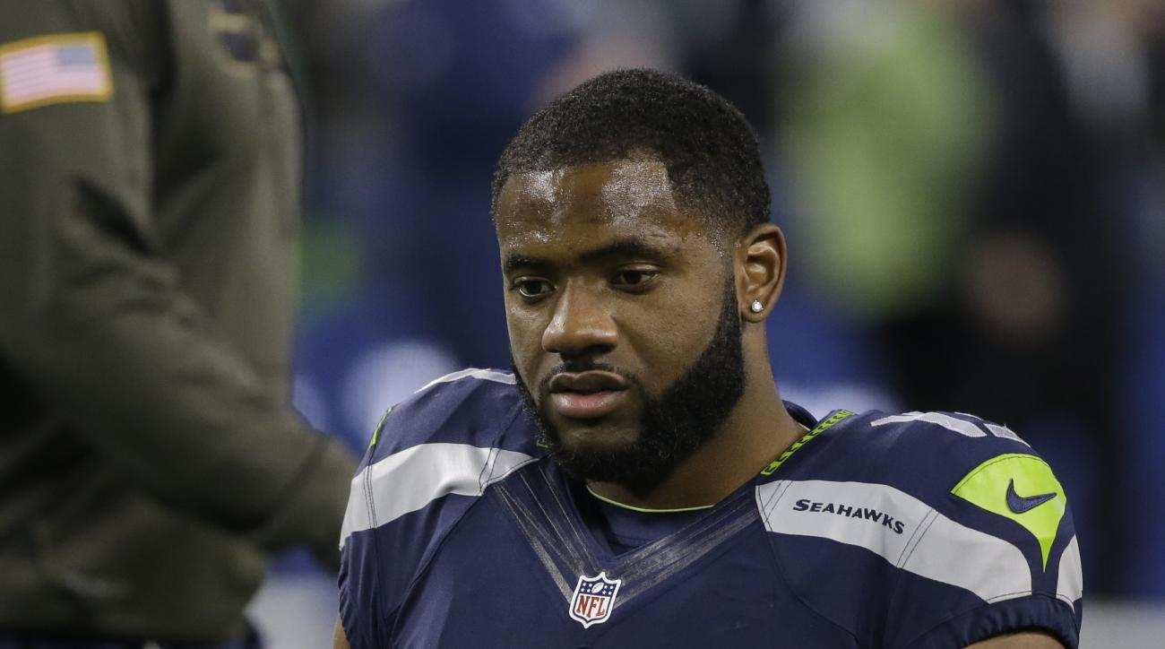 Seattle Seahawks wide receiver Chris Matthews before an NFL football game against the Arizona Cardinals, Sunday, Nov. 15, 2015, in Seattle. (AP Photo/Elaine Thompson)