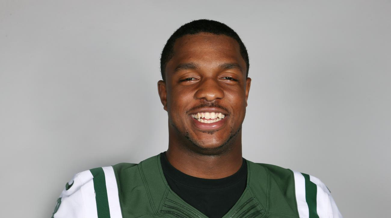 This is a 2015 photo of Quinton Coples of the New York Jets NFL football team. This image reflects the New York Jets active roster as of Monday, June 8, 2015 when this image was taken. (AP Photo)