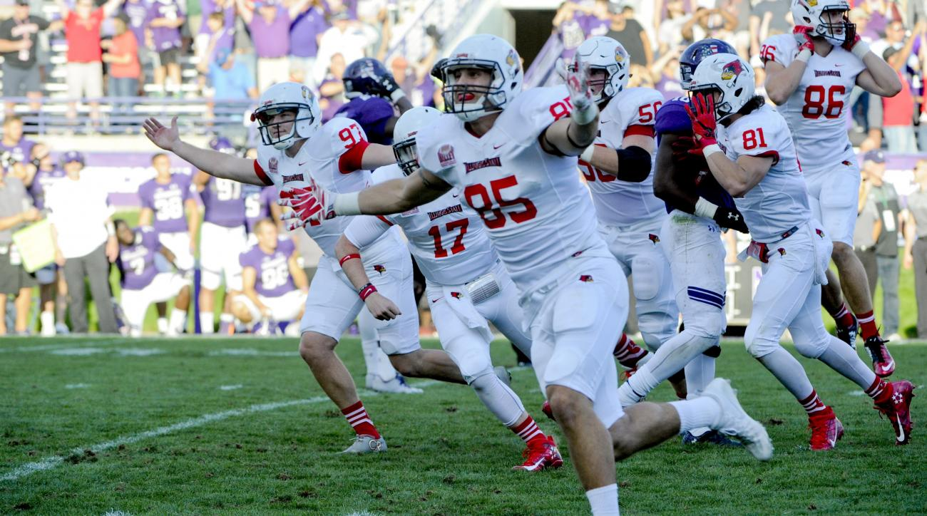 Illinois State vs Northwestern during an NCAA college football game in Evanston, Ill,  Saturday, September 10, 2016  Photo/Matt Marton
