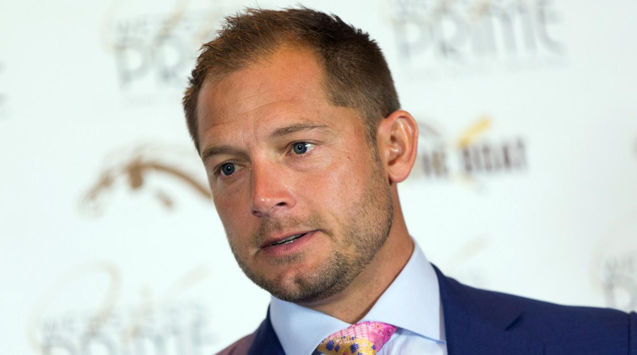 Western Michigan head coach P.J. Fleck speaks with media during an NCAA college football press conference at Radisson Plaza Hotel in Kalamazoo, Mich., Tuesday, Sept. 13, 2016. Western Michigan improved to 2-0 after defeating North Carolina Central 70-21 l