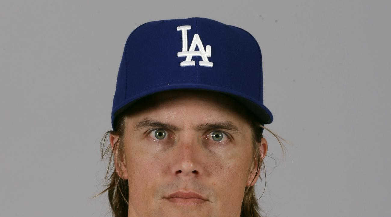 FILE - This is a 2015 file photo showing Zack Greinke of the Los Angeles Dodgers baseball team. Greinke and the Arizona Diamondbacks have finalized their $206.5 million, six-year contract, a deal with a $34.4 million average salary that is the highest in