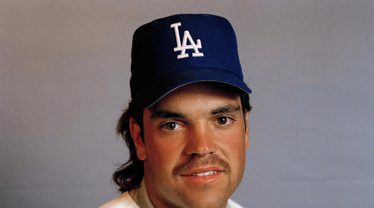 FILE -  This undated file photo shows Los Angeles Dodgers' catcher  Mike Piazza. Piazza could make it on to the Baseball Hall of Fame on his fourth try when voting is announced Wednesday, Jan. 6, 2016. (AP Photo/File)