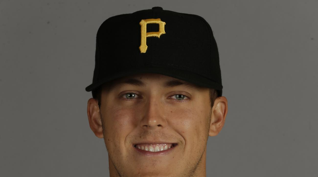 This is a 2016 photo of Jameson Taillon of the Pittsburgh Pirates.  This image represents the Pirates active roster on Thursday, Feb. 25, 2016, in Bradenton, Fla. (AP Photo/Chris O'Meara)