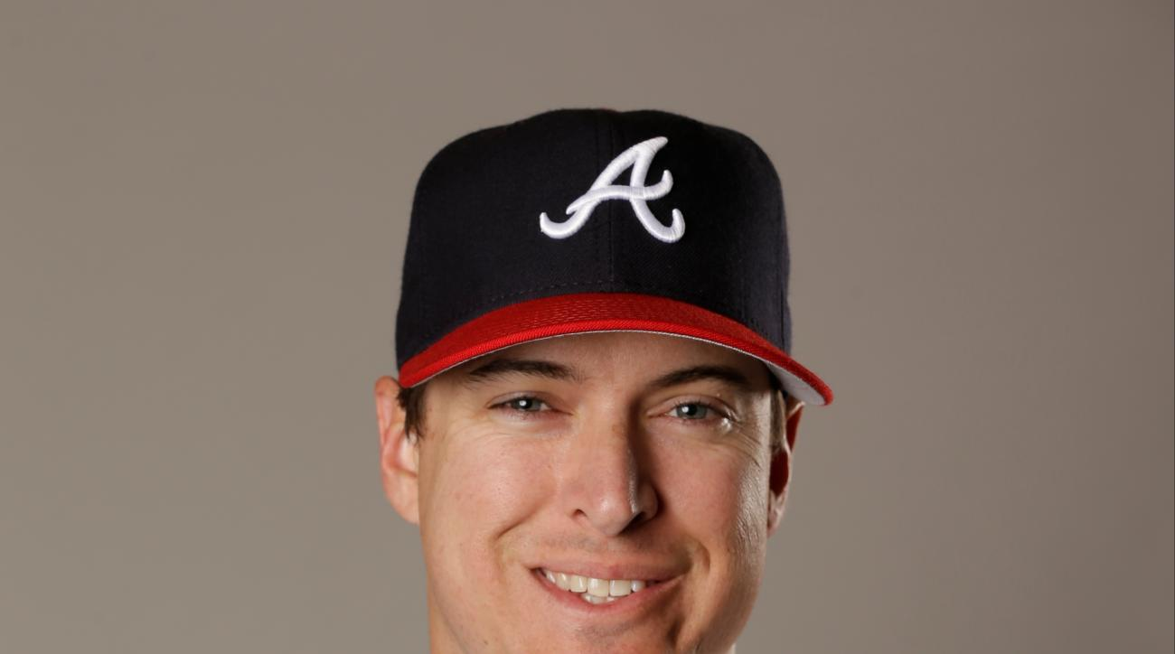 This is a Friday, Feb. 26, 2016 file photo of Kelly Johnson of the Atlanta Braves baseball team in Kissimmee, Fla. The Mets acquired the Johnson from the Atlanta Braves on Wednesday, June 8, 2016 for right-hander Akeel Morris. (AP Photo/John Raoux, File)
