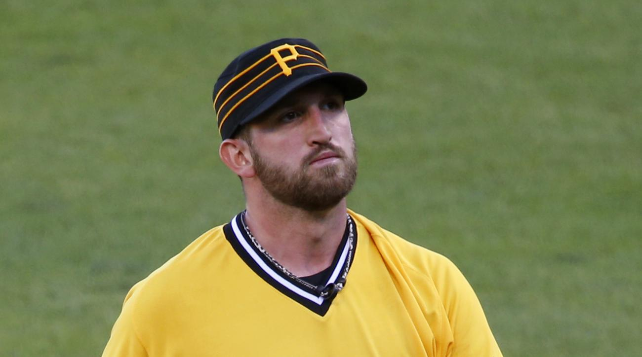 Pittsburgh Pirates starting pitcher Jonathon Niese walks off the mound after being pulled by manager Clint Hurdle in the sixth inning of a baseball game against the St. Louis Cardinals in Pittsburgh, Sunday, June 12, 2016. (AP Photo/Gene J. Puskar)