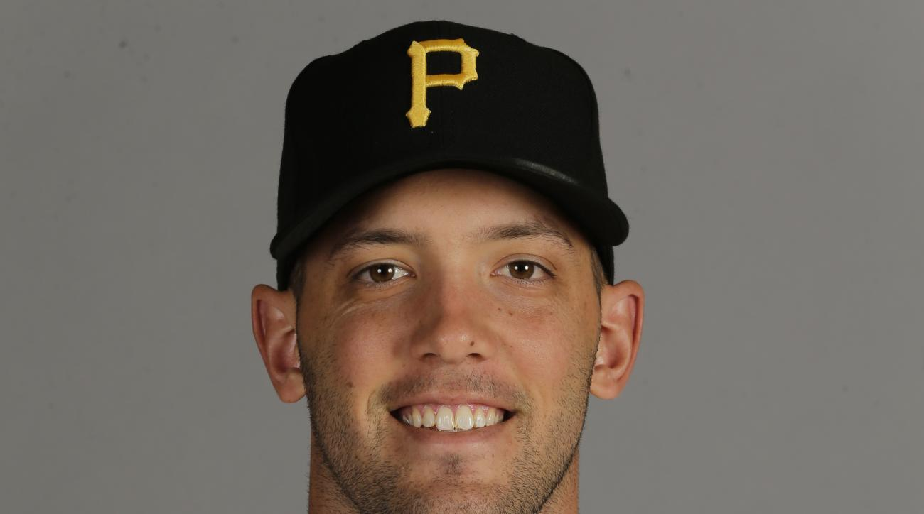 This is a 2016 photo of Jacob Stallings of the Pittsburgh Pirates.  This image represents the Pirates active roster on Thursday, Feb. 25, 2016, in Bradenton, Fla. (AP Photo/Chris O'Meara)