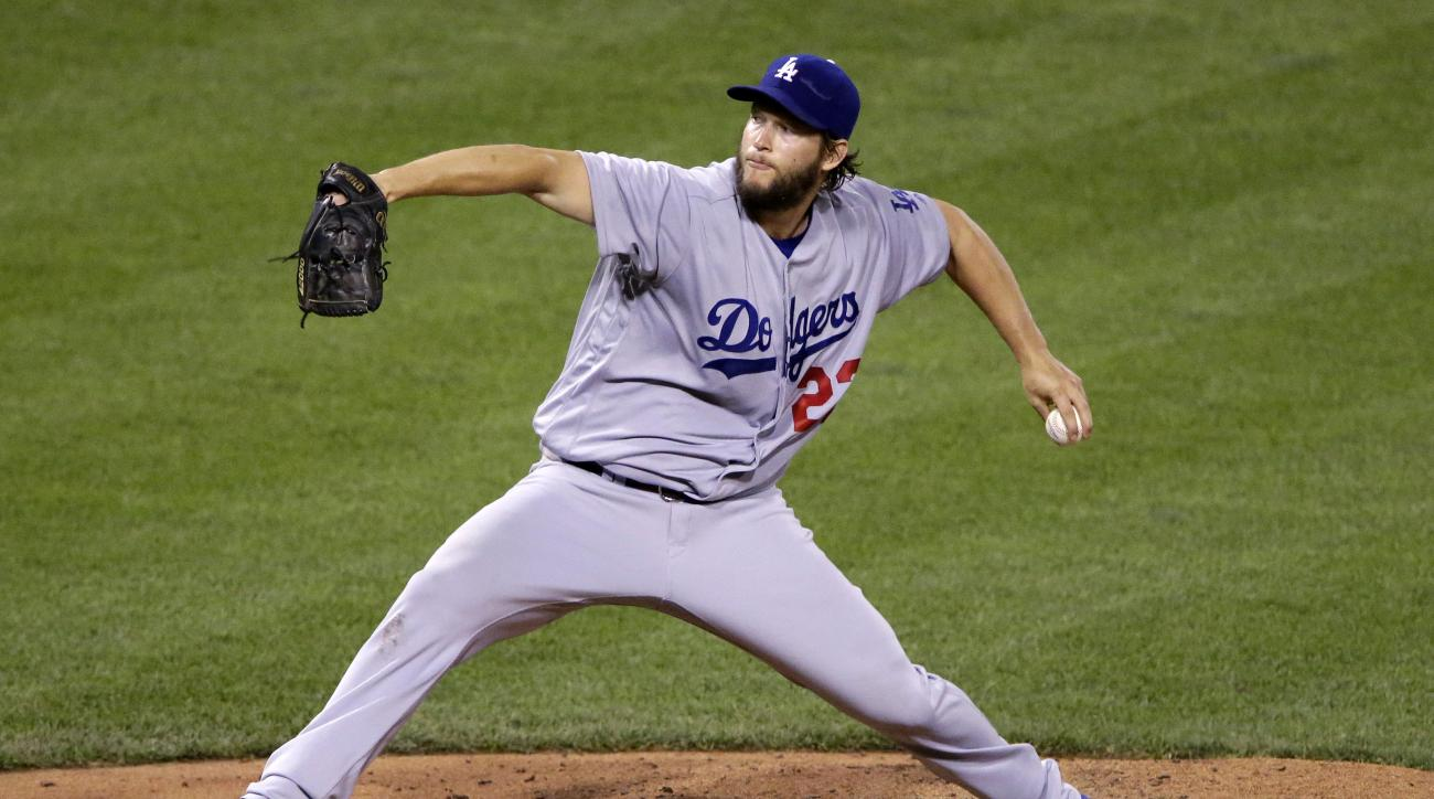 FILE - In this June 26, 2016, file photo, Los Angeles Dodgers starting pitcher Clayton Kershaw delivers during the fifth inning of a baseball game against the Pittsburgh Pirates in Pittsburgh. After Kershaw had a follow-up examination on his sore back, th