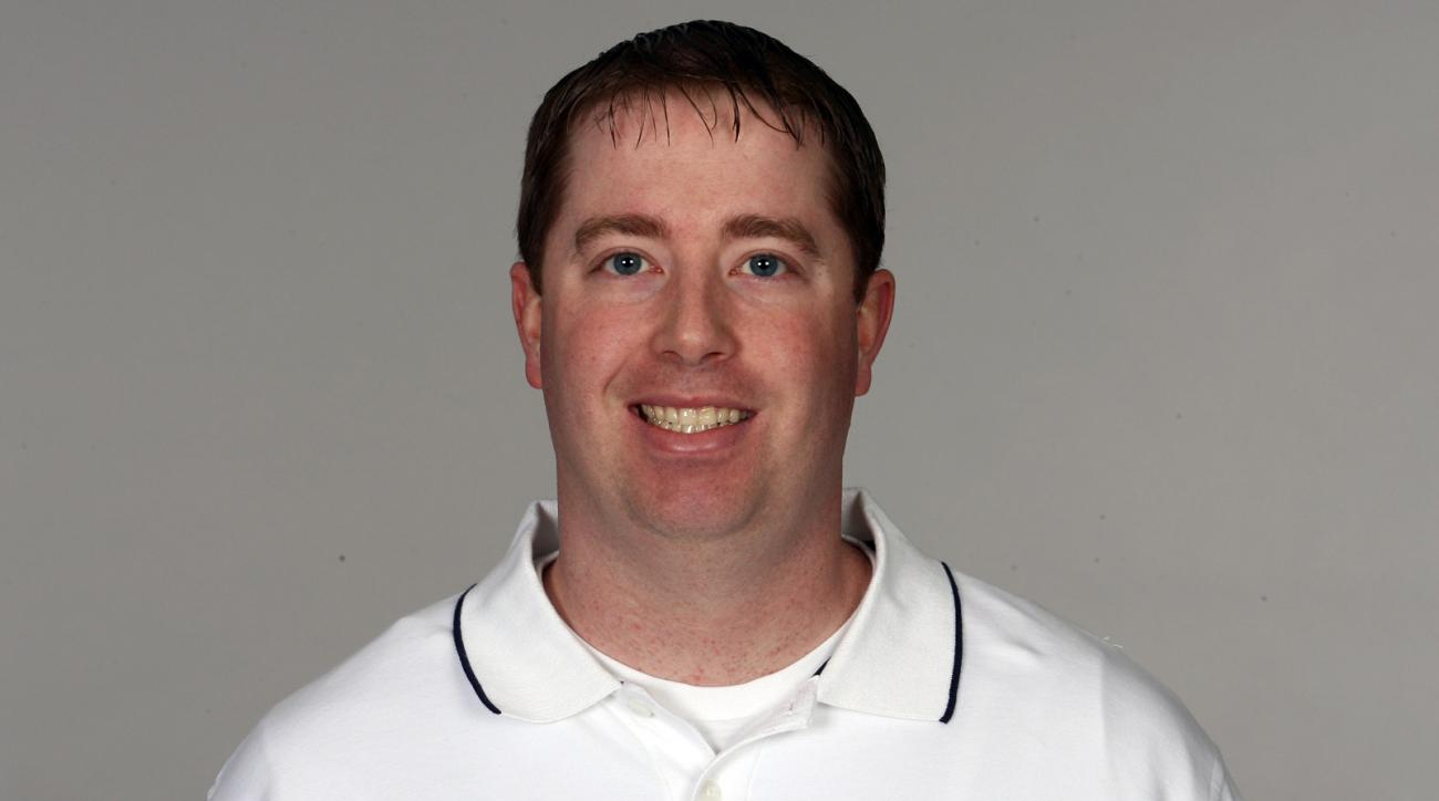 This undated photo released by the New England Patriots shows director of pro scouting Bob Quinn, agreed to a deal in principle Firday, Jan. 8, 2016, with the Detroit Lions to be their general manager, hoping to replicate some of the Patriots' success. Th