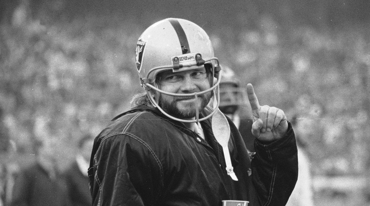 FILE - In this Dec. 27, 1976, file photo, Oakland Raiders quarterback Ken Stabler stands on the sidelines during the second half of AFC championship game against the Pittsburgh Steelers in Oakland, Calif. Boston researchers say Stabler had the brain disea