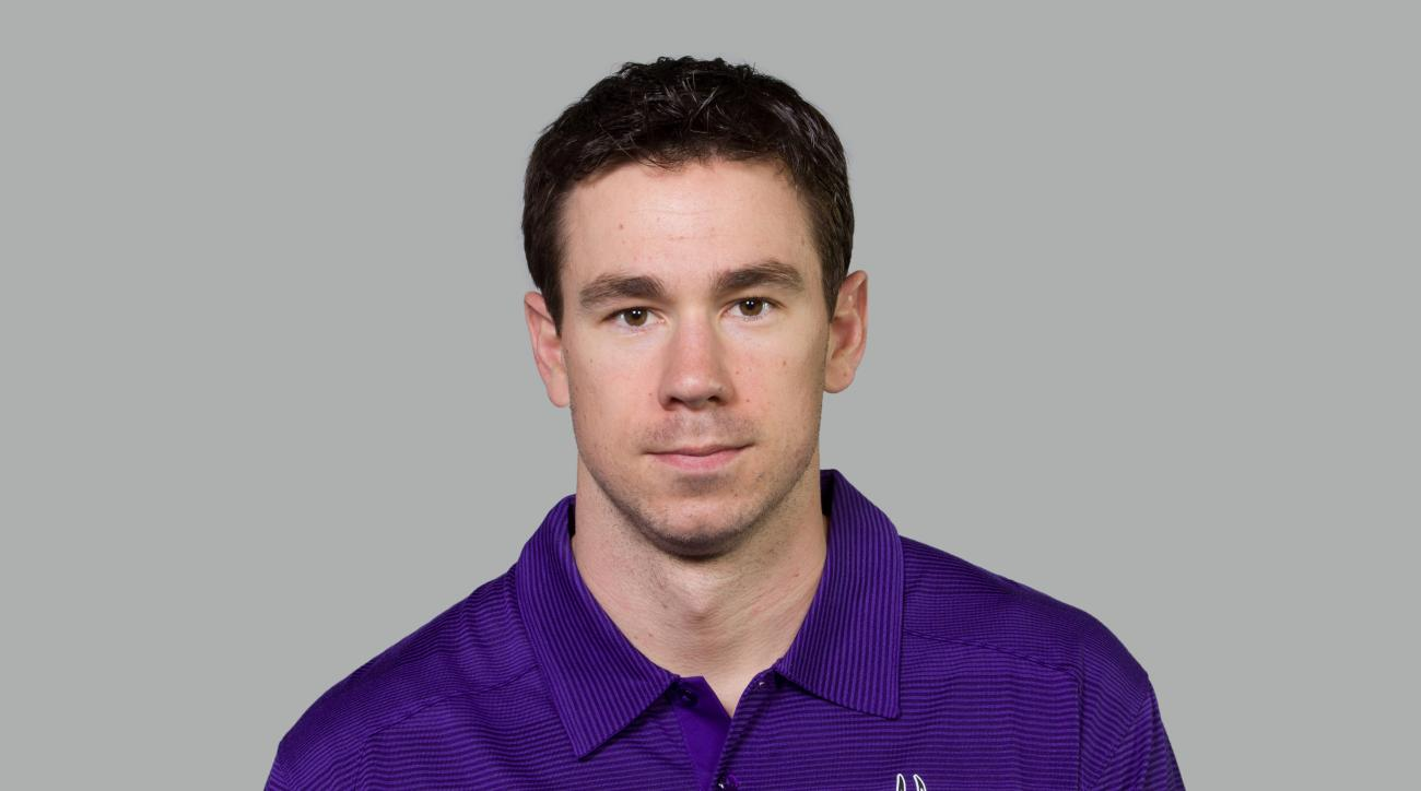 This is a 2014 photo of Klint Kubiak of the Minnesota Vikings NFL football team. This image reflects the Minnesota Vikings active roster as of Monday, February 10, 2014 when this image was taken. (AP Photo)