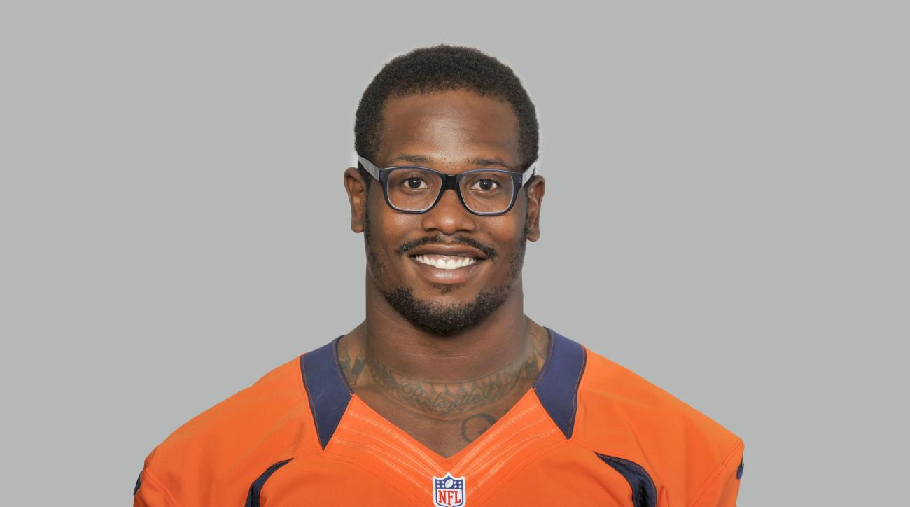 FILE - This 2014 file photo, shows Von Miller of the Denver Broncos NFL football team. The Broncos have placed their exclusive franchise tag on Super Bowl 50 MVP Von Miller. (AP Photo/File)