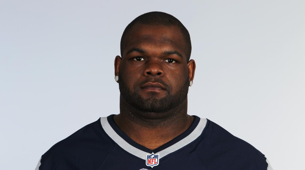 FILE - This is a June 10, 2012, file photo showing Ron Brace of the New England Patriots NFL football team. The Massachusetts medical examiners office has ruled that former Patriots defensive lineman Ron Brace likely died from an irregular heartbeat combi