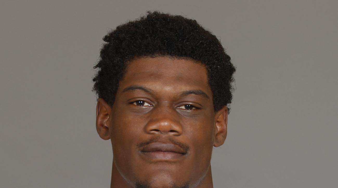 File-This a 2016 photo shows Randy Gregory of the Dallas Cowboys NFL football team.  Gregory is facing a longer suspension over another violation of the NFLs substance-abuse policy, and owner Jerry Jones says he doesnt expect to see the troubled player at