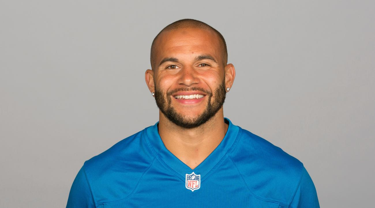 FILE - This is a 2015 file photo showing Lance Moore when he was with the Detroit Lions NFL football team. Veteran wide receiver Lance Moore has retired three days after signing as a free agent with the Atlanta Falcons. The Falcons announced Moore's retir