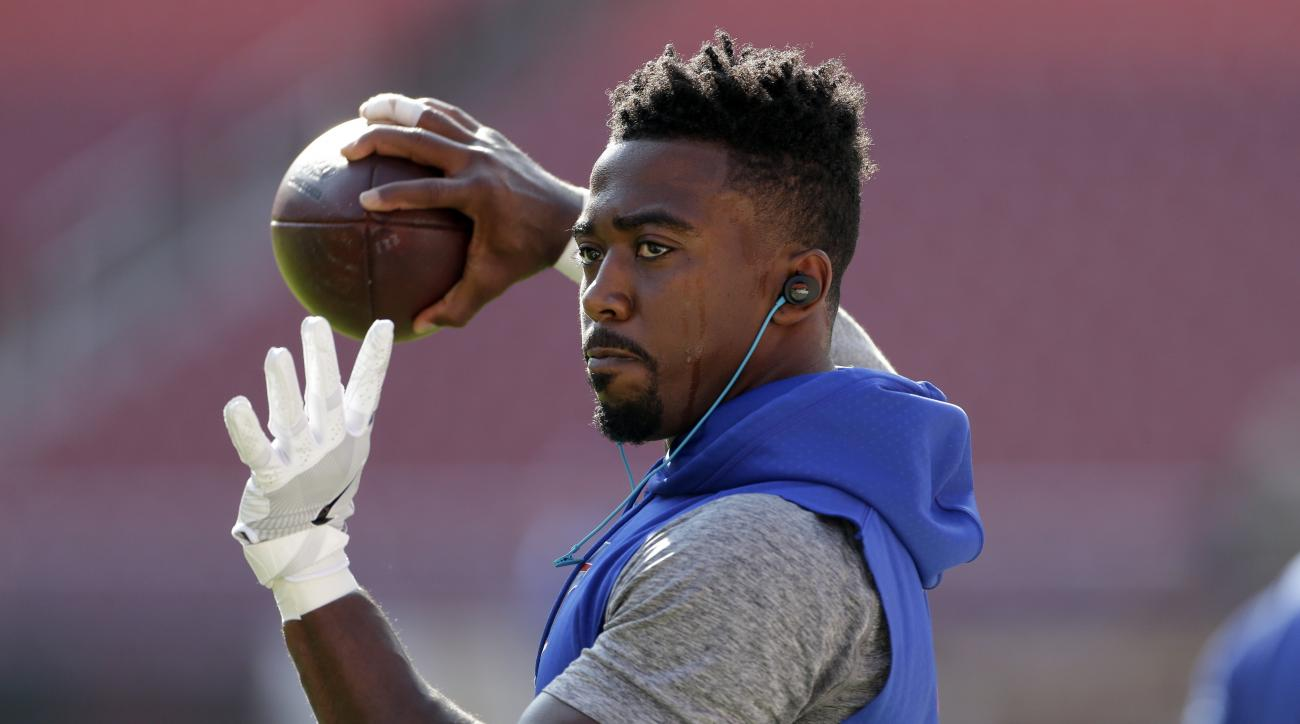 FILE - This Aug. 26, 2016, file photo, shows Buffalo Bills quarterback Tyrod Taylor (5) warming up before an NFL preseason football game against the Washington Redskins in Landover, Md. It has been a rough summer for Rex Ryan's Bills, who might have final