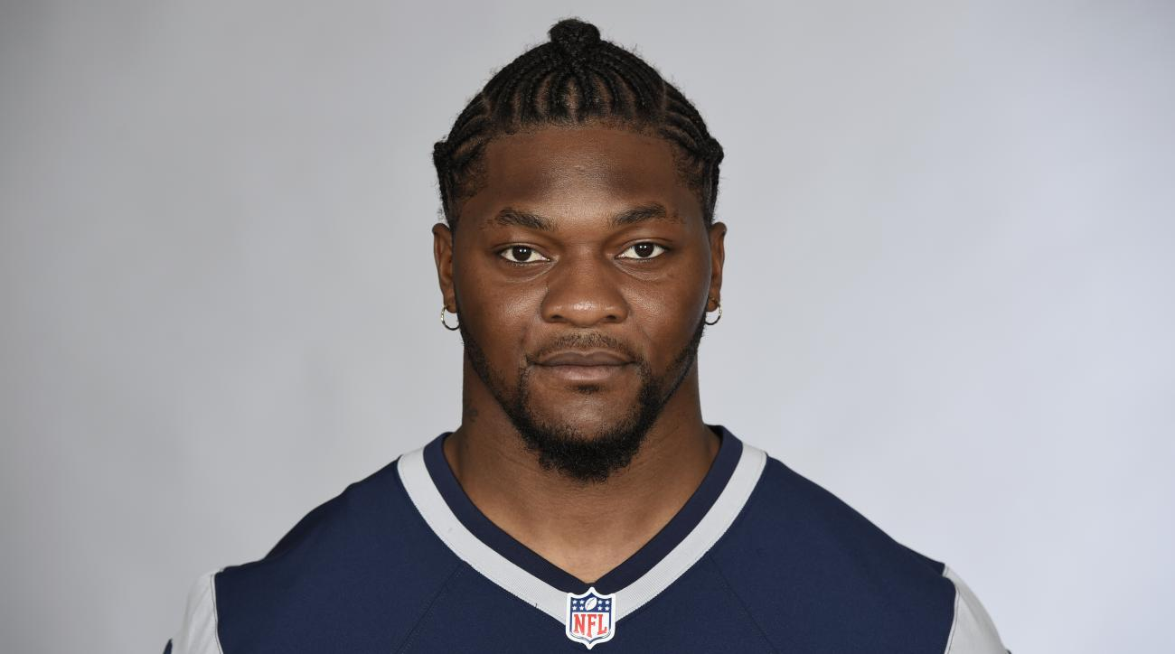 FILE - This is a 2016 file photo showing Jamie Collins of the New England Patriots NFL football team. The Cleveland Browns have acquired linebacker Jamie Collins from New England, a person with knowledge of the trade tells The Associated Press. The person