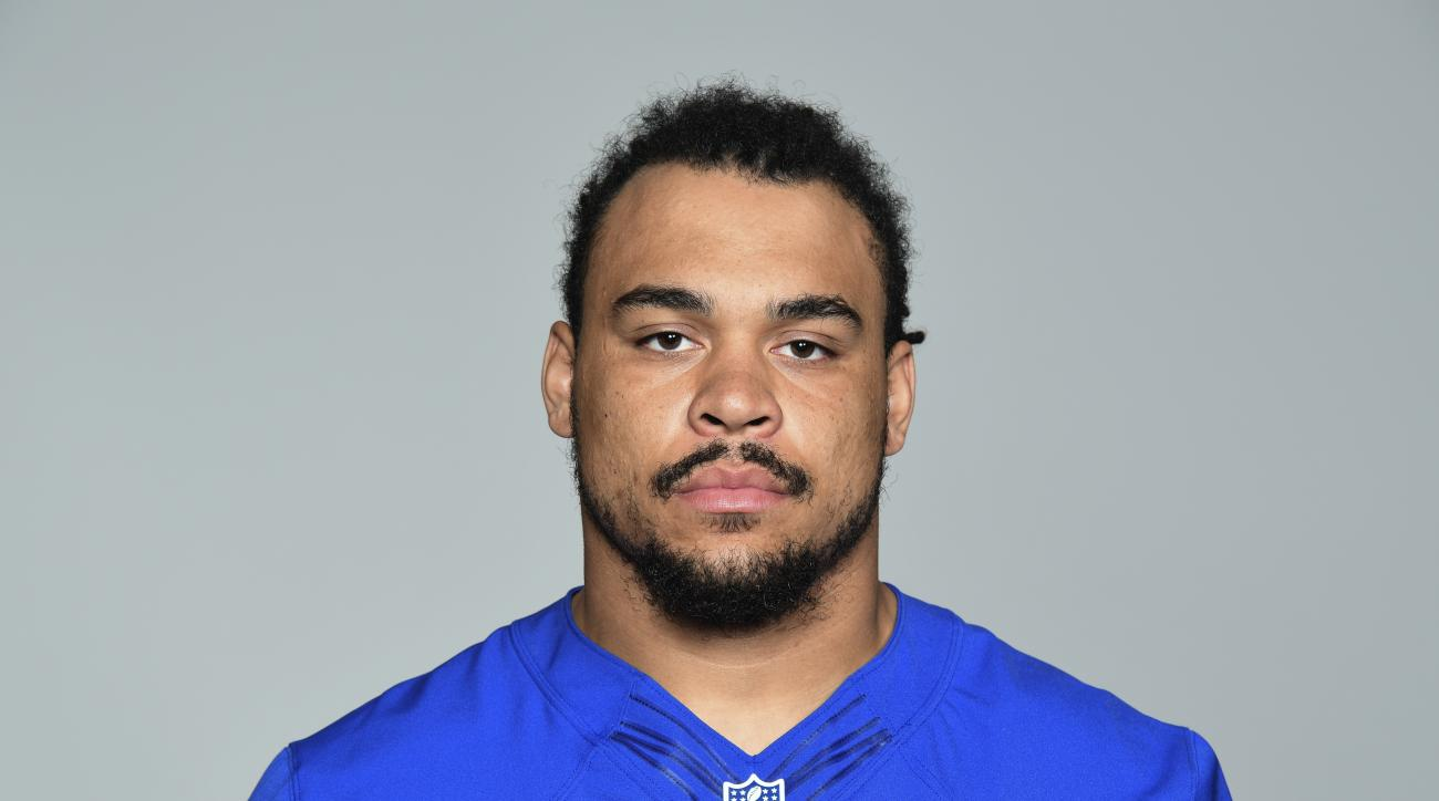 This is a 2016 photo of Nikita Whitlock of the New York Giants NFL football team. This image reflects the New York Giants active roster as of Monday, June 13, 2016 when this image was taken. (AP Photo)