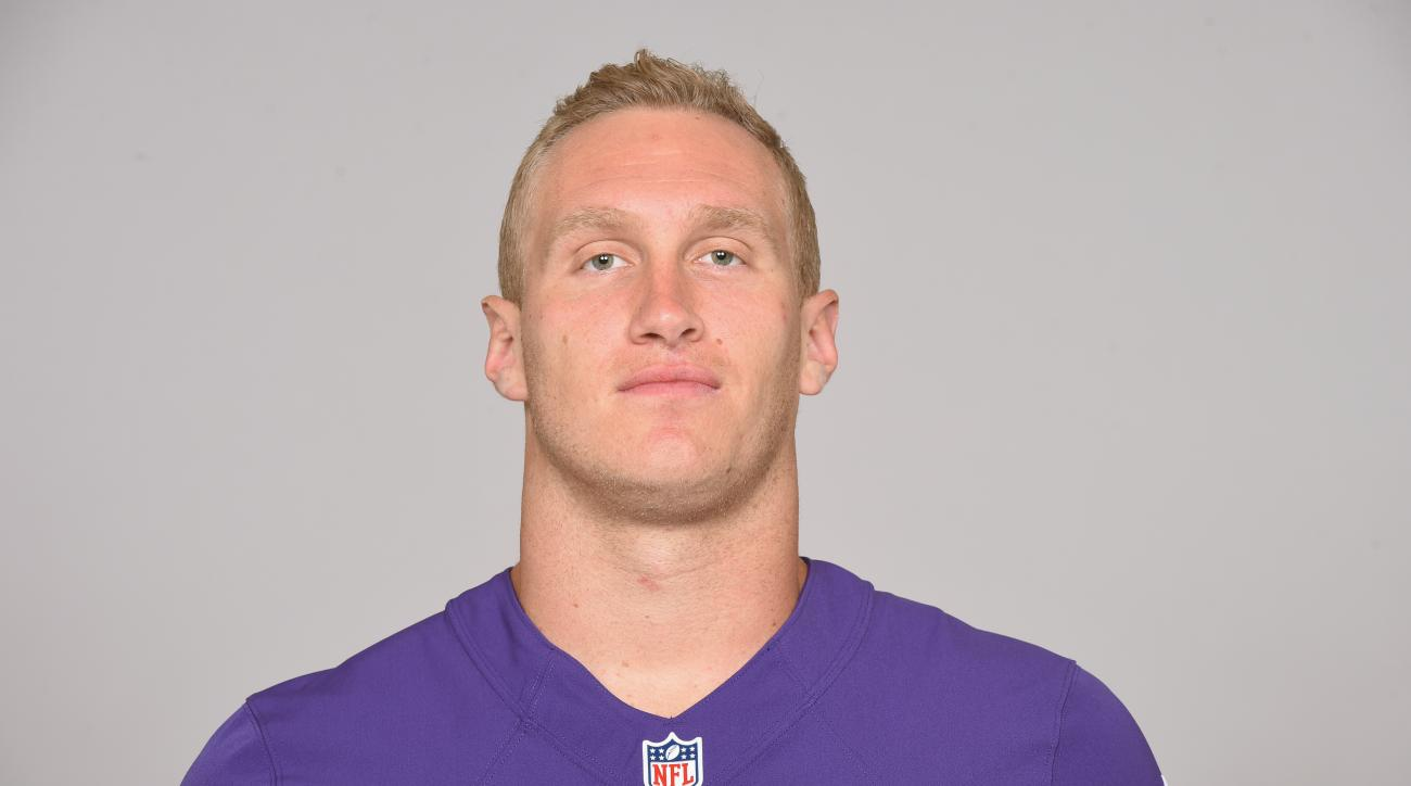 This is a 2015 photo of Konrad Reuland of the Baltimore Ravens NFL football team. This image reflects the Baltimore Ravens active roster as of Wednesday, June 17, 2015 when this image was taken. (AP Photo)