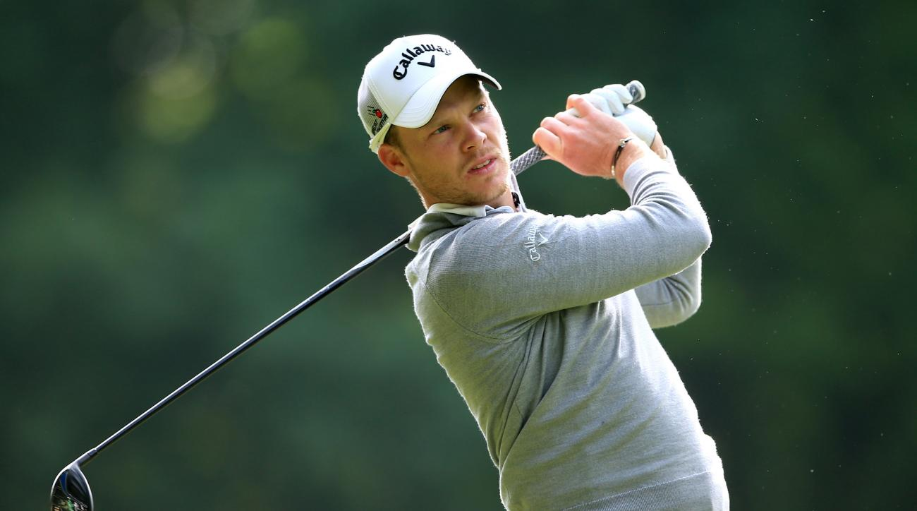 England's Danny Willett during the second round of the BMW PGA Championship at Wentworth golf club, Virginia Water, England, Friday May 27, 2016. (John Walton/PA via AP) UNITED KINGDOM OUT NO SALES NO ARCHIVE