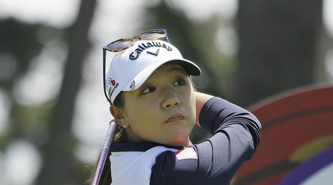 FILE - In this April 23, 2016, file photo, Lydia Ko, of New Zealand, follows her shot from the second tee of the Lake Merced Golf Club during the third round of the Swinging Skirts LPGA Classic golf tournament in Daly City, Calif. The U.S. Women's Open go