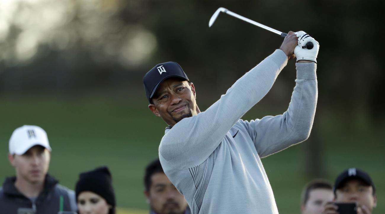 the latest  tiger returns to pga tour at torrey pines