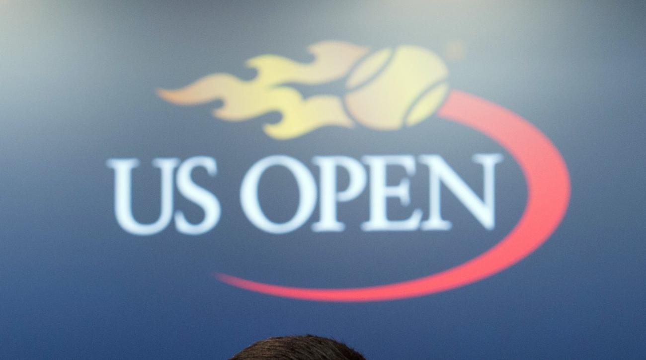 Novak Djokovic, of Serbia, speaks during a media availability for the U.S.Open tennis tournament at the Billie Jean King National Tennis Center, Friday, Aug. 26, 2016 in New York. (AP Photo/Bryan R. Smith)