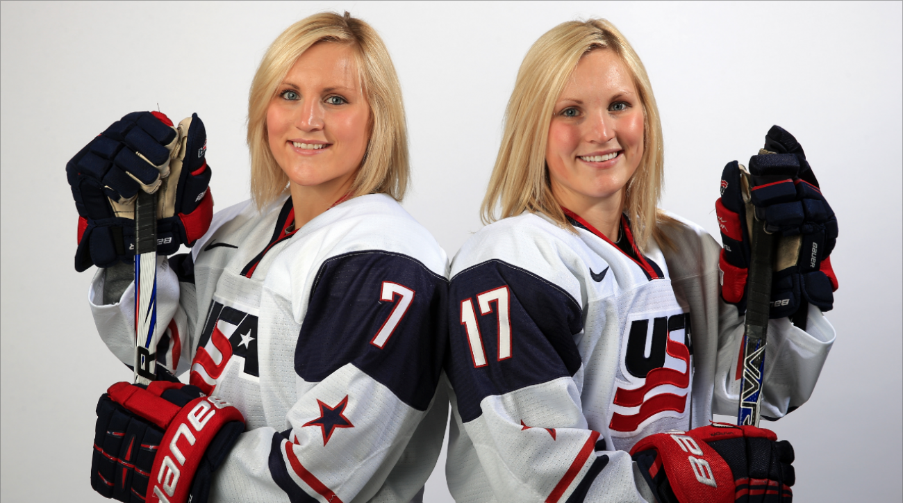Monique Lamoureux, Jocelyn Lamoureux feared being cut from US womens hockey team Monique Lamoureux, Jocelyn Lamoureux feared being cut from US womens hockey team new pics