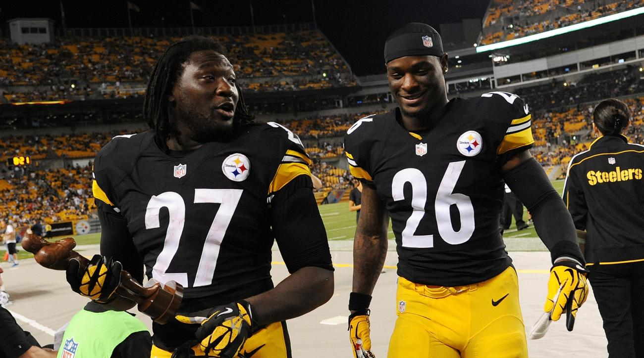 LaGarrette Blount and LeVeon Bell apologize