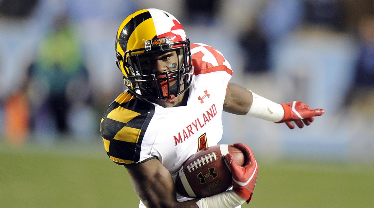 Stefon Diggs University of Maryland Terrapins