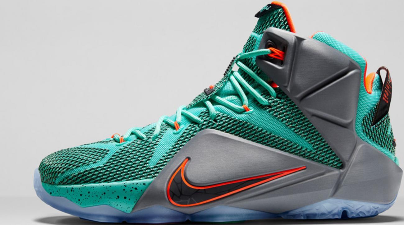 0cd1f518d73 VIDEO - Nike debuts LeBron 12 shoes