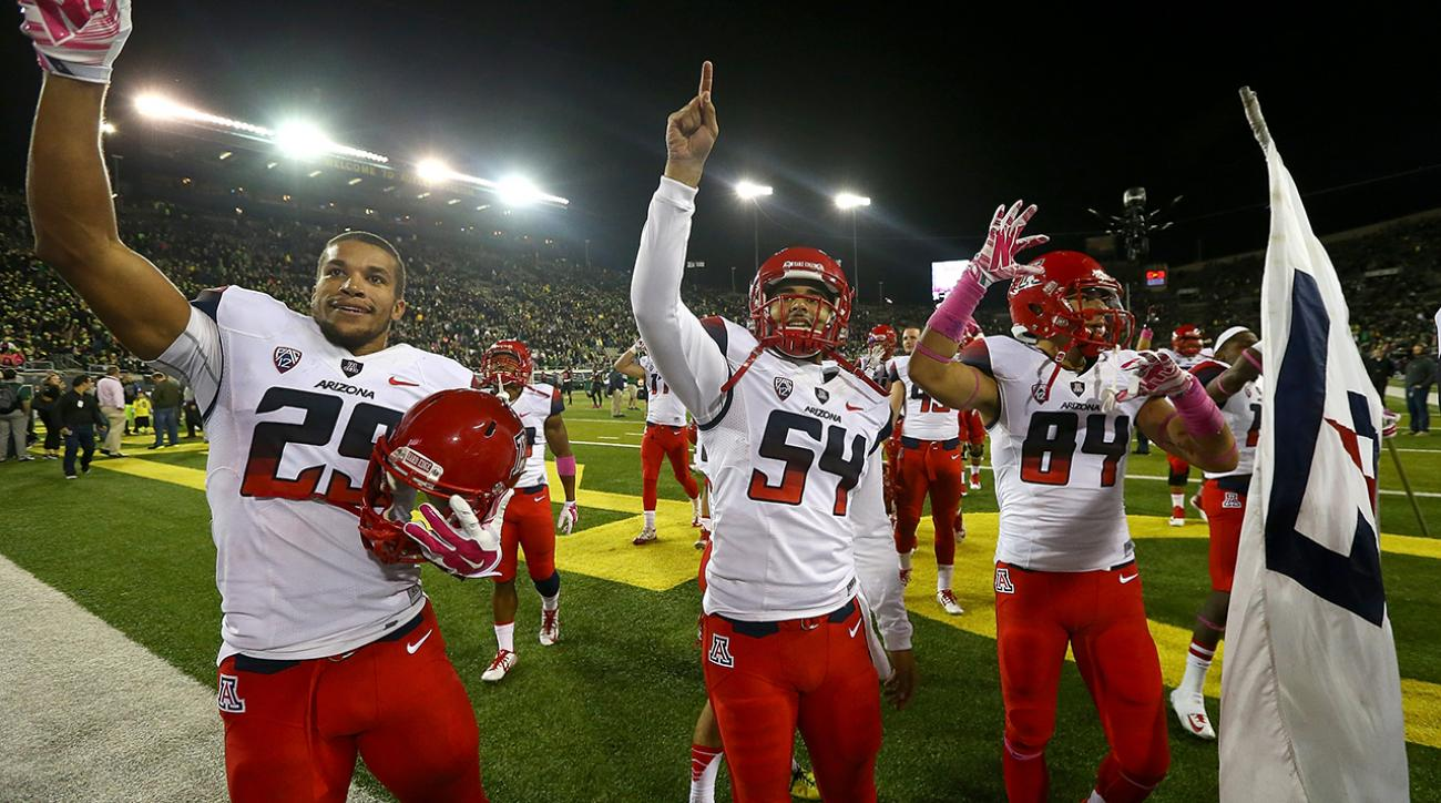 arizona wildcats upset oregon ducks
