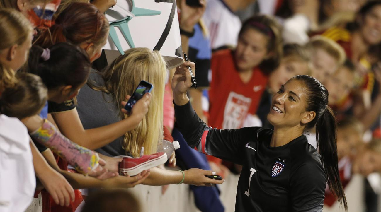 The USWNT announced their roster for the World Cup qualifying tournament, and despite criticism over domestic violence, Hope Solo is on the roster.