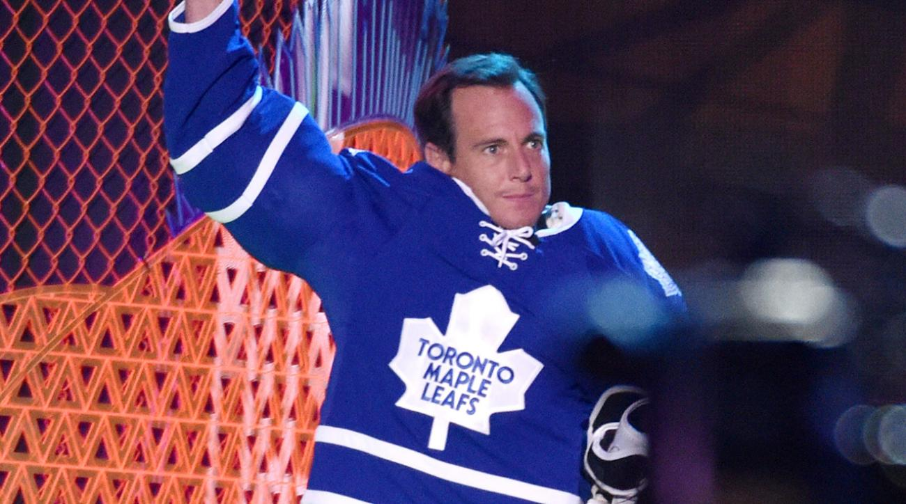 will arnett reps maple leafs