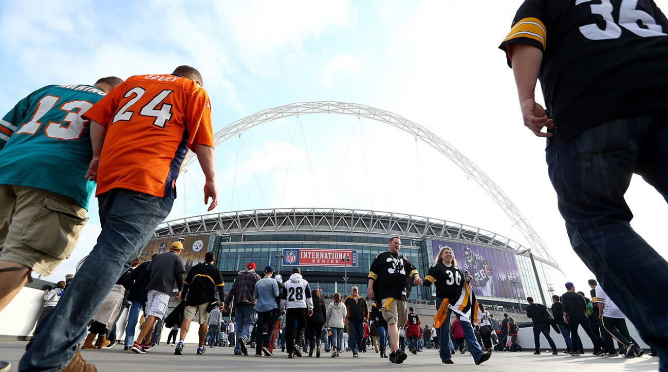 The NFL is now requiring teams that host the Super Bowl to play a home game across the pond in England.
