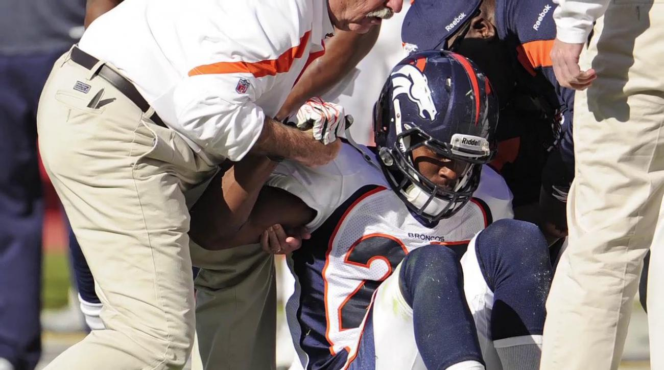 Miami Dolphins running back Knowshon Moreno was placed on season-ending injured reserve with a torn ACL.