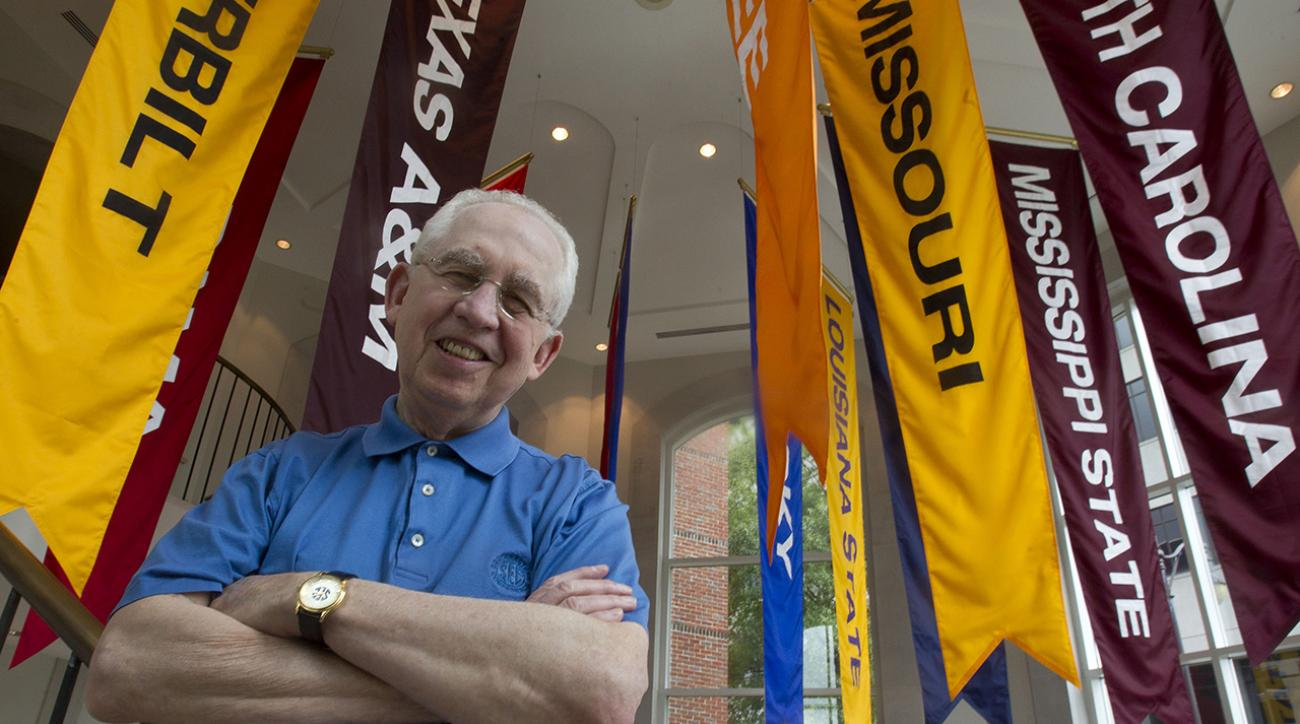 SEC Commissioner Mike Slive announced his pending retirement Tuesday