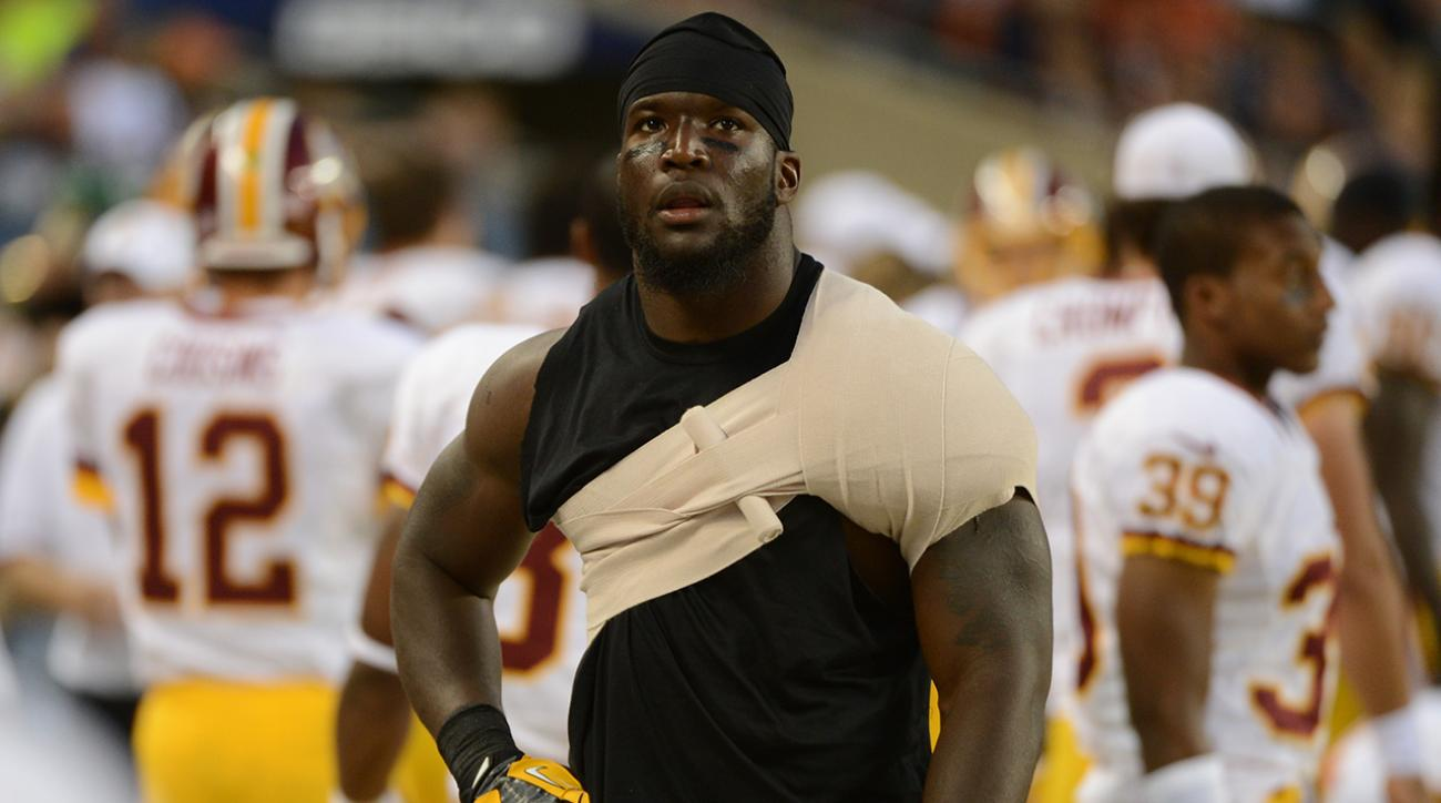 Washington fears Orakpo may have suffered torn pectoral muscle