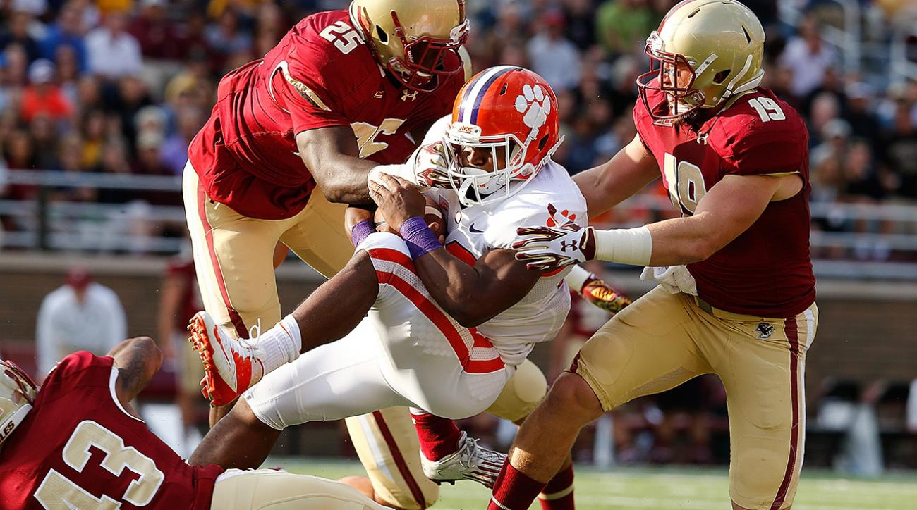 Clemson RB Adam Choice done for season with torn ACL