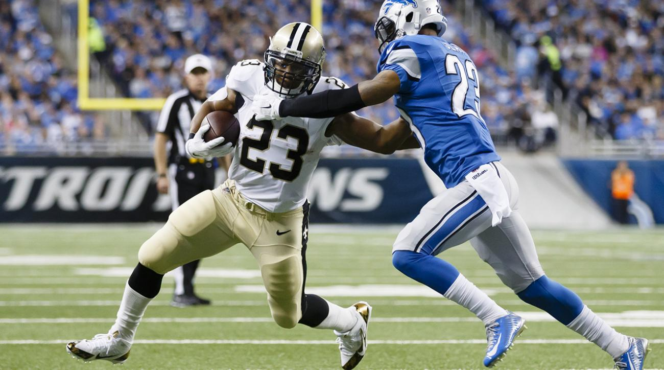 Report: Pierre Thomas expected to miss 2-3 weeks with shoulder injury