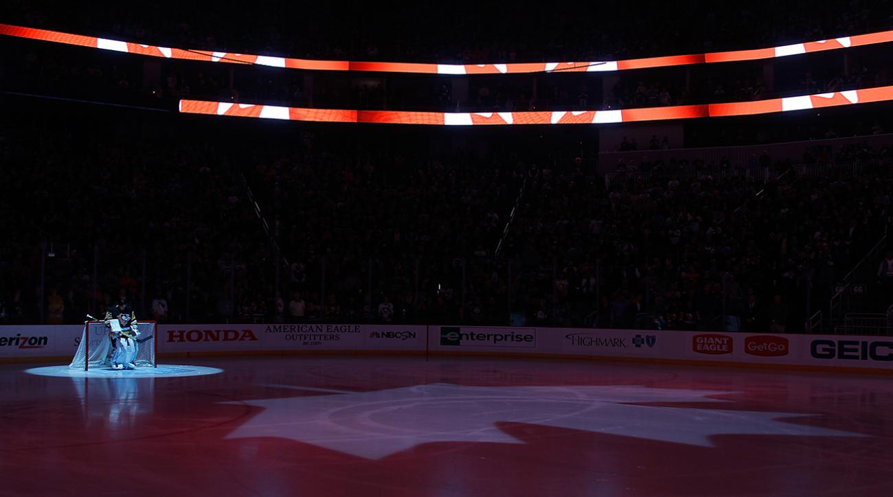 penguins pay tribute to ottawa