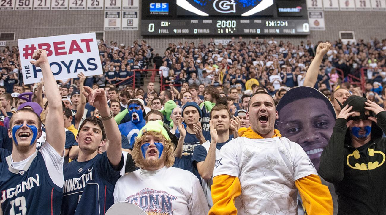 Georgetown and UConn will play home-and-home series starting next season.