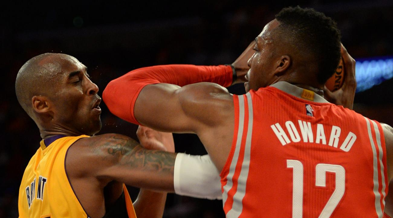 dwight howard and kobe bryant fight