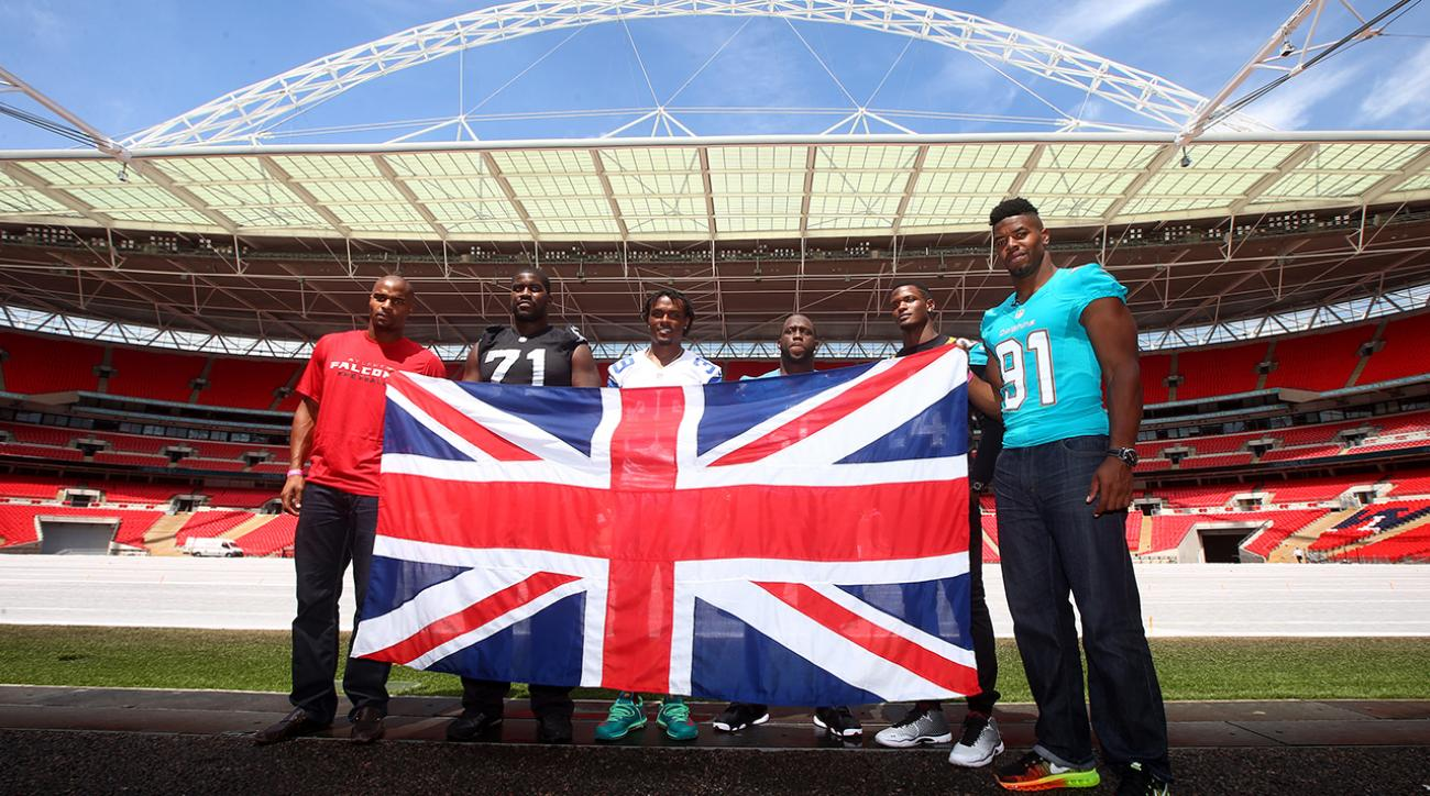 NFL aiming to play two consecutive London games in '15