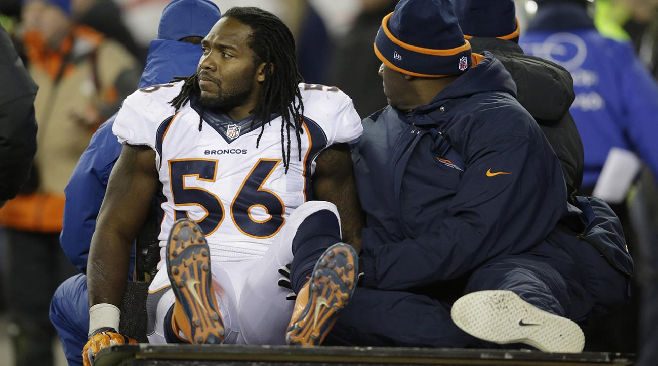 Broncos fear LB Nate Irving suffered ligament damage in knee