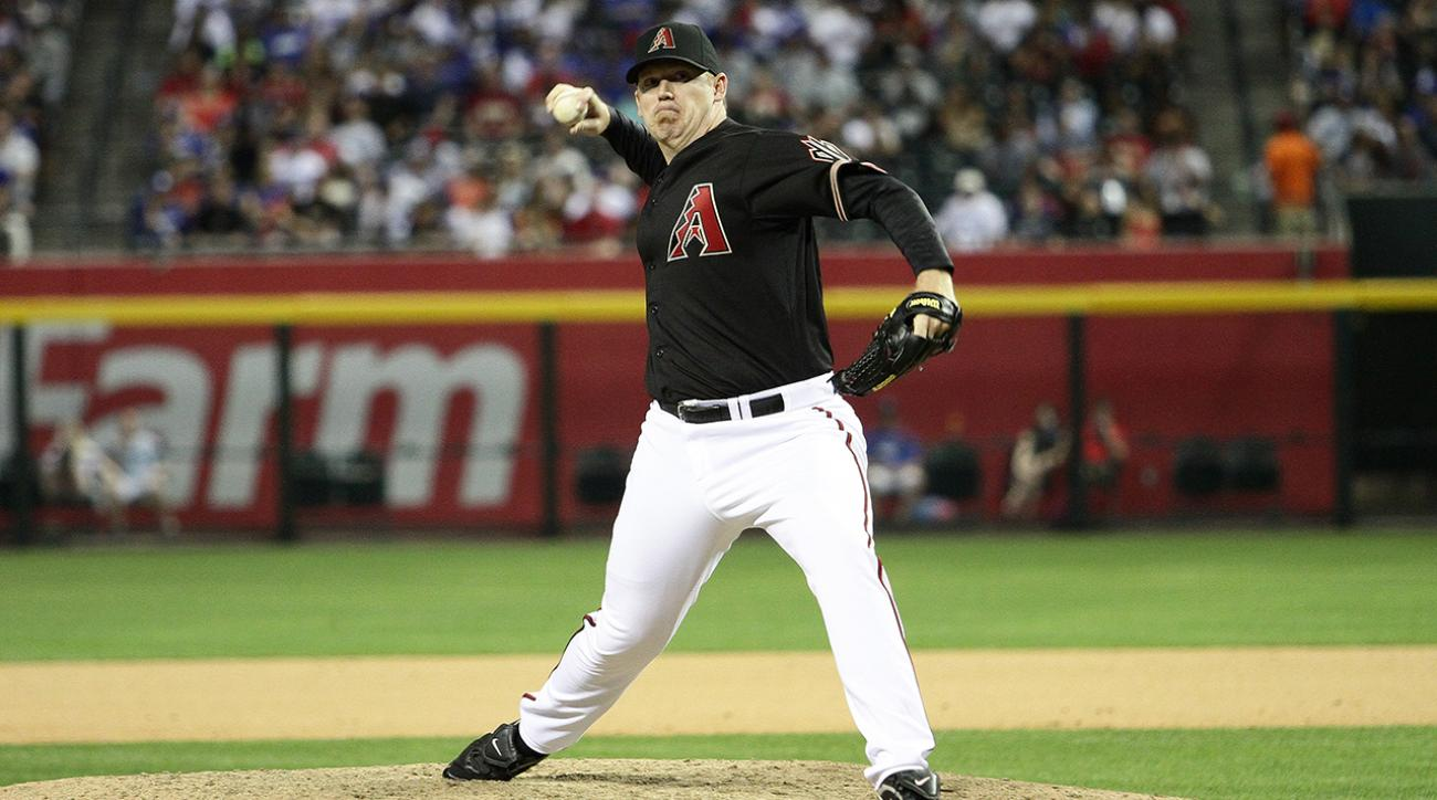 Retired reliever J.J. Putz says he's 'very excited' to coach pitchers in spring training as special assistant for Arizona Diamondbacks.
